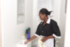 African young beautiful housework lady c