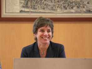 La ministra all'inaugurazione del corso di Medicina  e tecnologie digitali