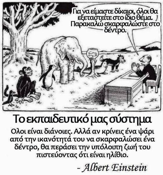 Η πολλαπλή νοημοσύνη και το εκπαιδευτικό σύστημα