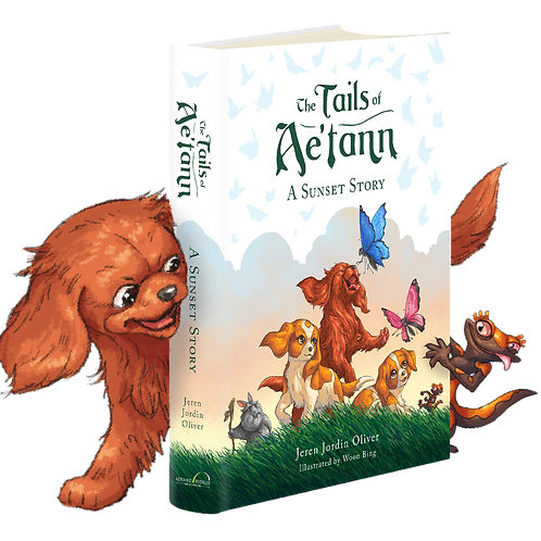 The Tails of Ae'tann : A Sunset Story Book (Common Edition)