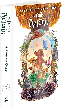 The Tails of Aetann Book Cover