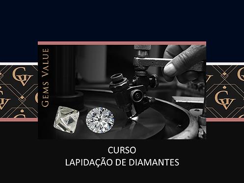Curso Lapidação Diamantes