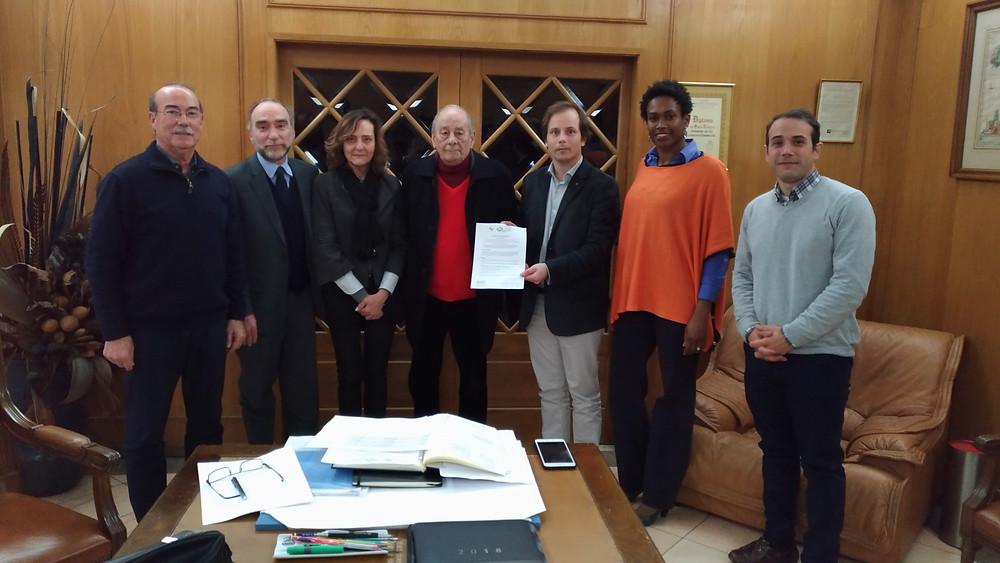 Protocolo e Acordo de Cooperação entre a GemsValue e Acadip