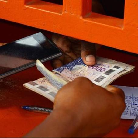 Das Mobiltelefon als Bankfiliale in Afrika