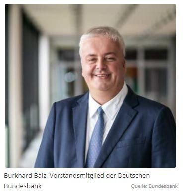 """Bundesbanker Balz: """"2020 wird ein Schlüsseljahr für Europa im Zahlungsverkehr"""""""