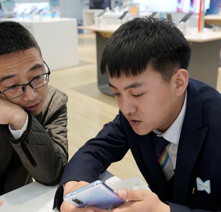 China is fast becoming the world leader in mobile payment