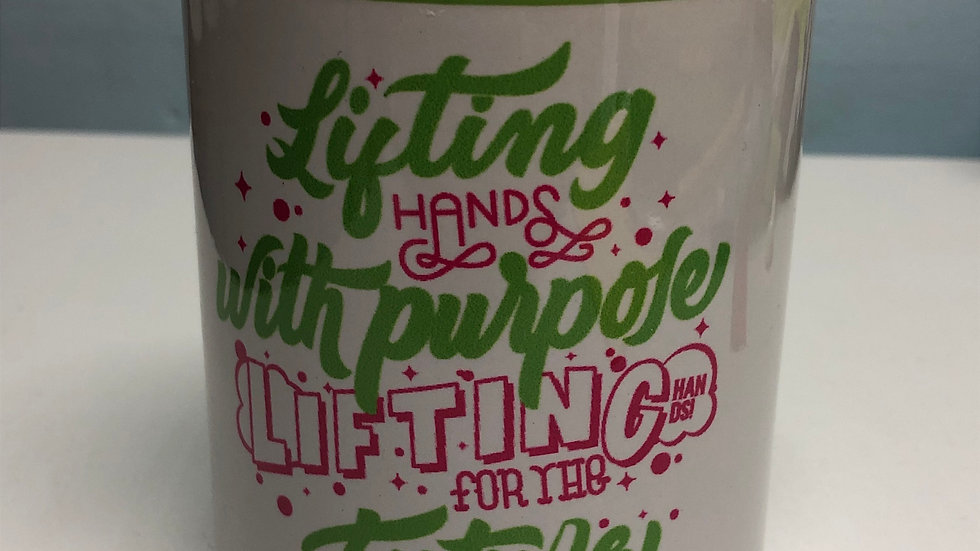 "Taza ""Lifting Hands with Purpose"""
