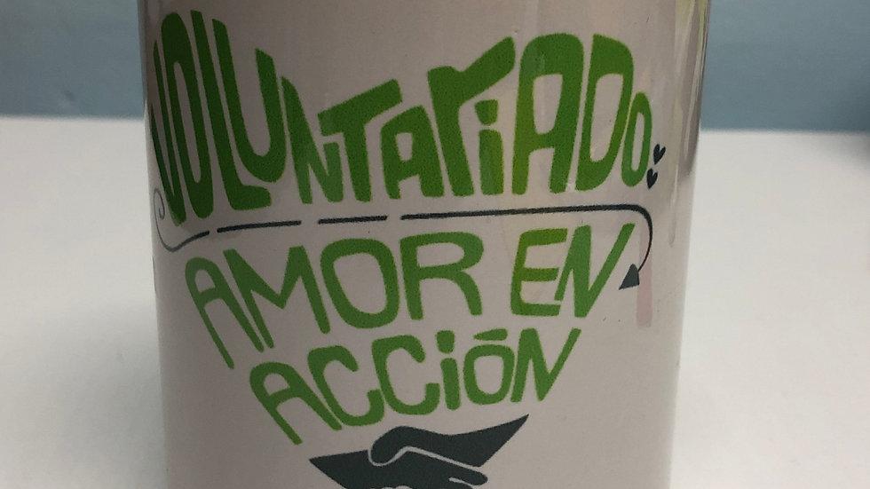 """Taza """"Voluntariado"""""""