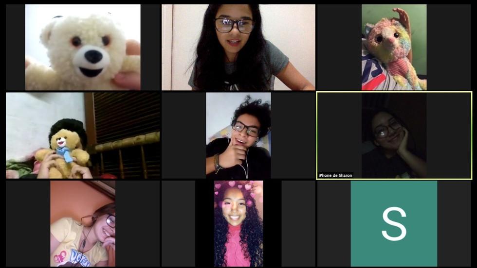 Grupo virtual Los Galácticos