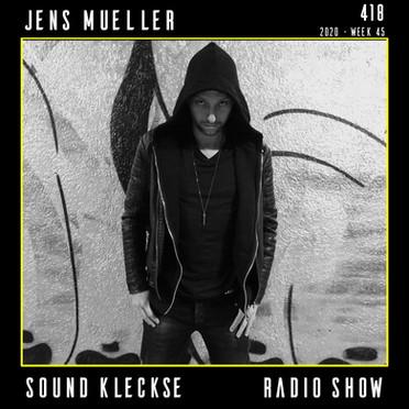 Sound Kleckse Radio Show 0418 - Jens Mue