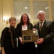 Gloria Teti with Honorees George & Alicia Dougherty