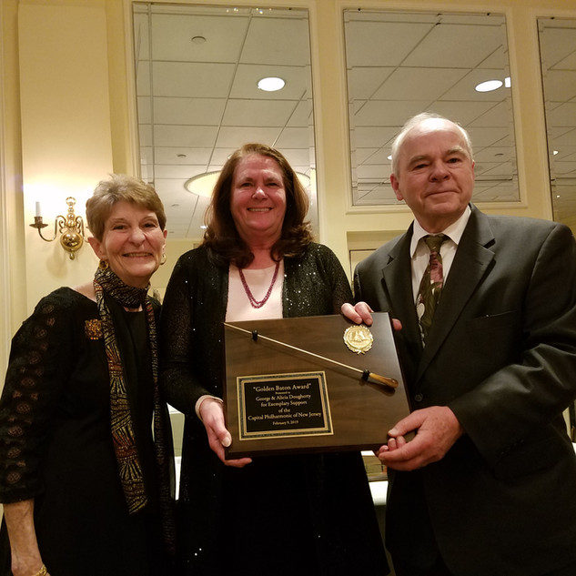 Gloria Teti with Honorees George & Alicia Dougherty