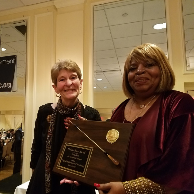 Gloria Teti with Honoree Sarah Dash