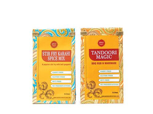 Stir Fry Karahi Spice Mix & Tandoori Magic
