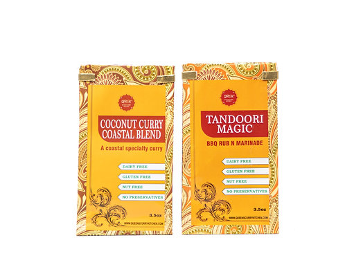 Coconut Curry Coastal Blend & Tandoori Magic