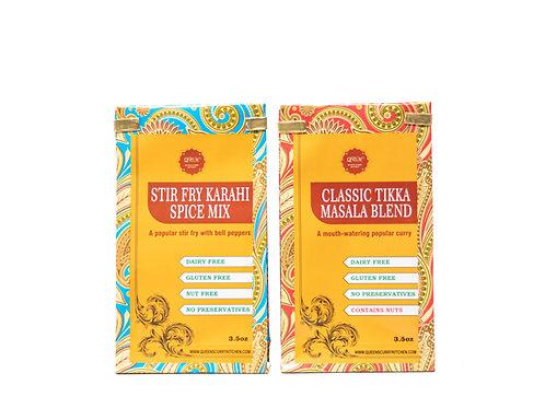 Stir Fry Karahi Spice Mix & Classic Tikka Masala Blend