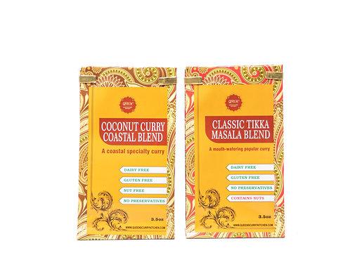 Coconut Curry Coastal Blend & Classic Tikka Masala Blend