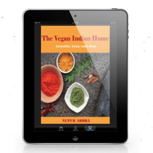 The Vegan Indian Home E-book