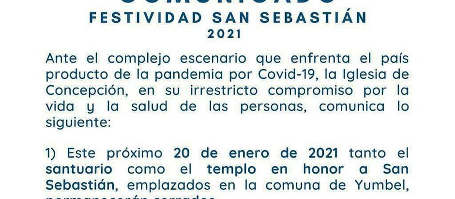 Comunicado sobre festividad de enero 2021
