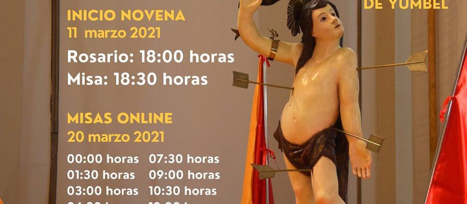 Festividad San Sebastián Marzo 2021