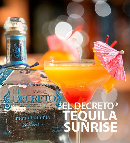 El Decreto Tequila Sunrise