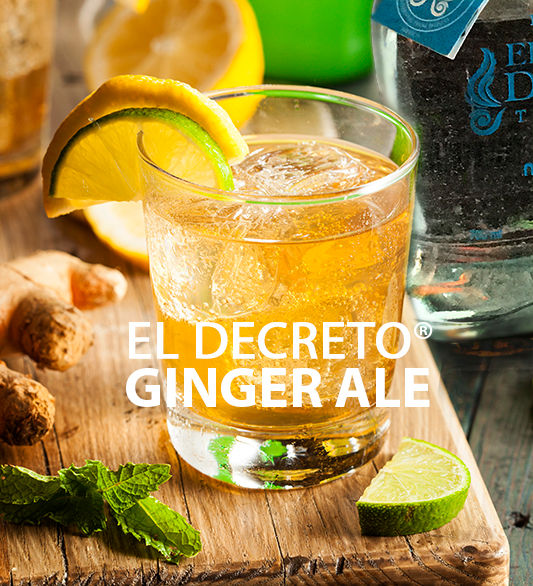 El Decreto Tequila Ginger Ale