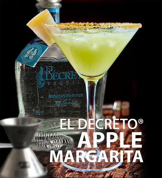 El Decreto Tequila Apple Margarita
