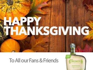 Happy #Thanksgiving to All Our Fans & Friends. @tequiladecreto