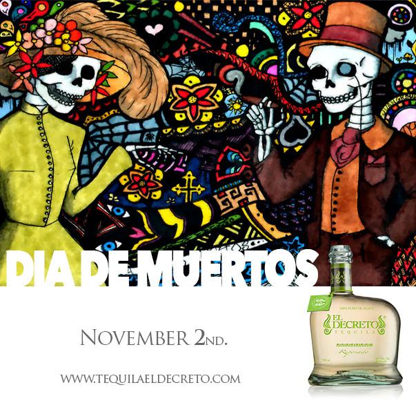 #DiaDeMuertos @TequilaDecreto