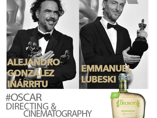 Congratulations to Alejandro G. Iñárritu and Emmanuel Lubeski #OSCARS Directing & Cinematography