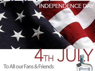 Happy #4july to All our Fans & Friends !