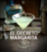 El Decreto Tequila Margarita