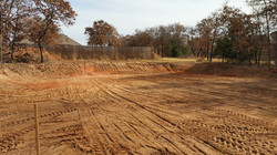 Building Pad (rear view) - After