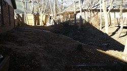 Tinhorn and Sod Install - Before 2