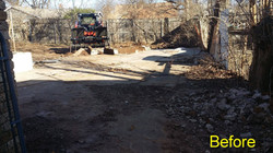 Residential Concrete Demo - Before