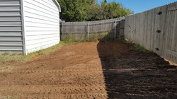 Gravel Parking Area - Before 2