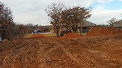 Building Pad (front view) - Before 2