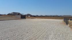 Gravel Parking Lot - After 2