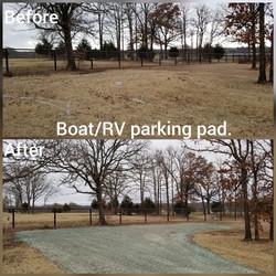 Boat/RV Parking Pad