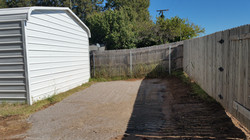 Gravel Parking Area - After