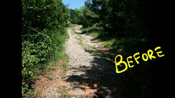 Road Maintenance- Before