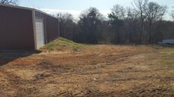 Backyard Sloping - Before