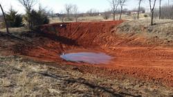Pond Excavation - After