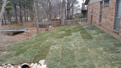 Tinhorn and Sod Install - After 1