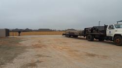 Gravel Parking Lot - Before 4
