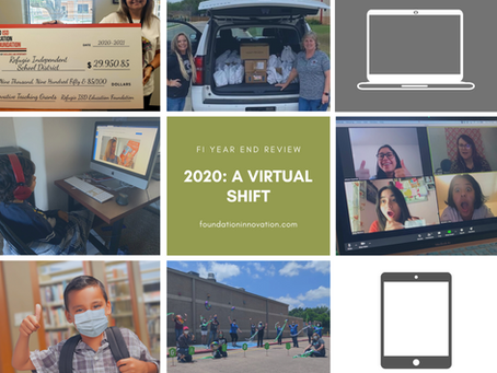 2020: A Virtual Shift in How Education Foundations do Business