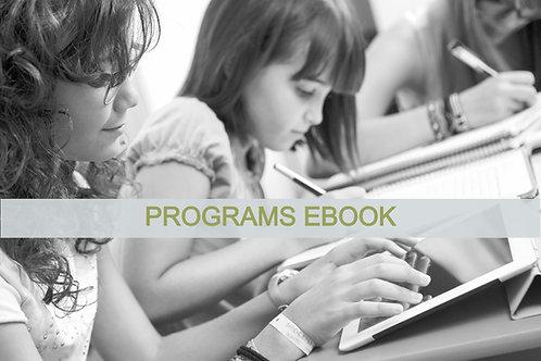 Programs Ebook