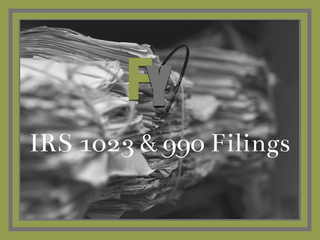 FYI: Going Paperless - Updates on IRS 1023 and 990 Filings