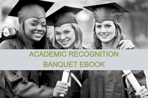 Academic Recognition Banquet Ebook