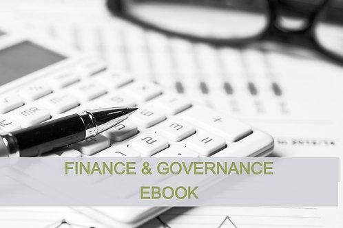 Finance & Governance Ebook